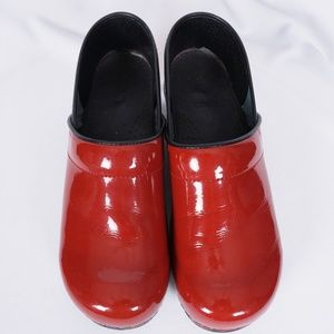 Sanita Greta Patent Leather Nurse Clog #3070